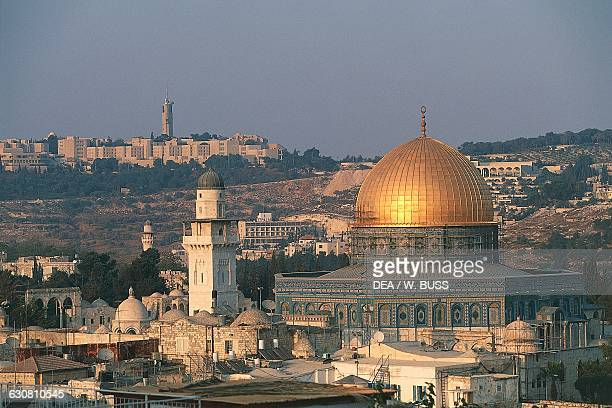 Dome of the Rock or Mosque of Omar Old City of Jerusalem Israel 7th16th century