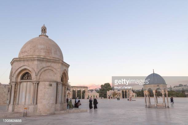 dome of the rock - al aqsa mosque stock pictures, royalty-free photos & images