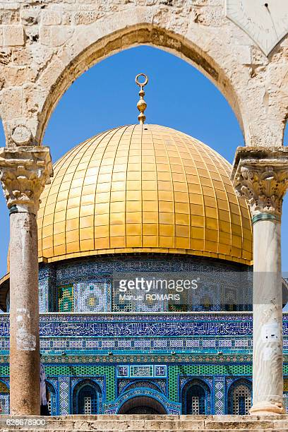 dome of the rock - jerusalem imagens e fotografias de stock