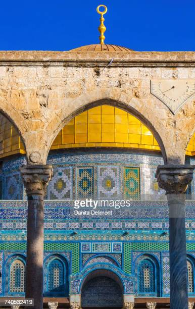 dome of the rock, temple mount, jerusalem, safed tsefat, israel - safed stock photos and pictures