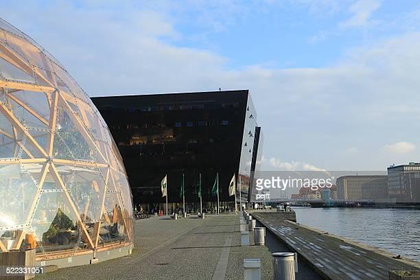 dome of visions, copenhagen - denmark - pejft stockfoto's en -beelden