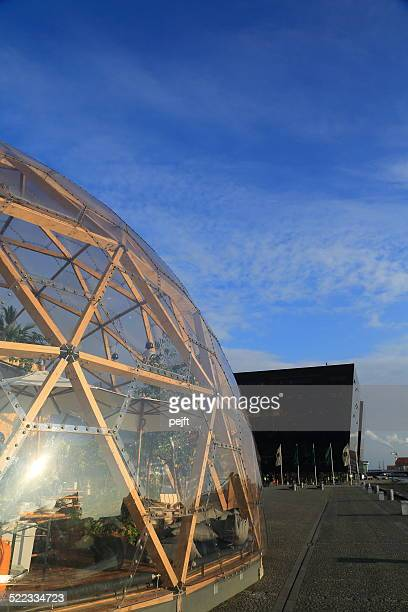 dome of visions, copenhagen - denmark - pejft stock pictures, royalty-free photos & images
