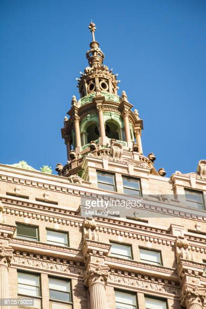 Dome on the roof of the Helmsley Building, 230 Park Avenue, Manhattan, New York City, New York, USA
