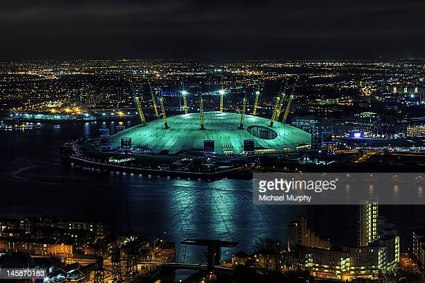 dome - the o2 england stock pictures, royalty-free photos & images