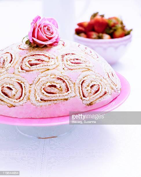 Dome shape cake