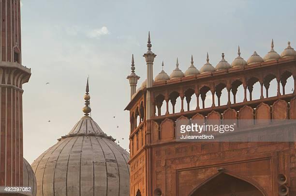 Dome, Torre skyline di Jama Masjid Moschea