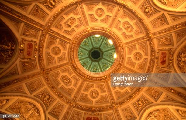 Domed ceiling of Museum of Fine Arts.