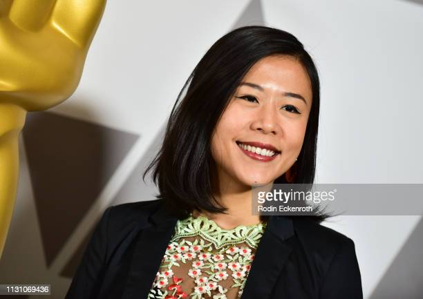 Domee Shi attends the 91st Oscars Oscar Week Shorts at the Academy of Motion Picture Arts and Sciences on February 20 2019 in Beverly Hills California