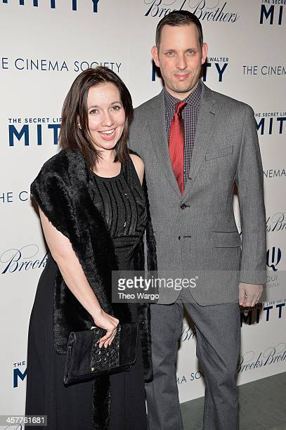 Domenica CameronScorsese attends the 20th Century Fox with The Cinema Society Brooks Brothers screening of The Secret Life Of Walter Mitty at Museum...