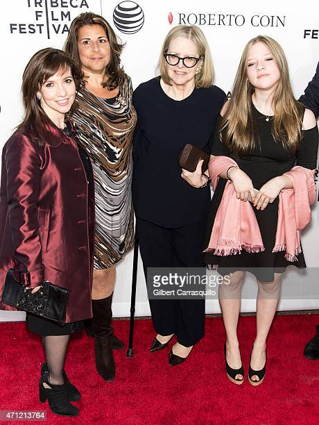 Domenica CameronScorsese Cathy Scorsese Helen Morris and Francesca Scorsese attend the closing night screening of 'Goodfellas' during the 2015...