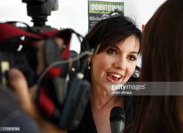 Domenica CameronScorsese during Downtown A Street Tale Hollywood Premiere at Laemmle Sunset 5 in Hollywood California United States