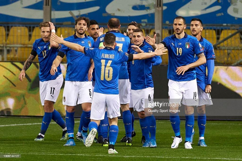 Italy v Northern Ireland - FIFA World Cup 2022 Qatar Qualifier : News Photo