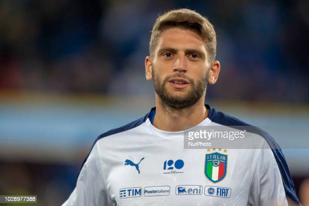 Domenico Berardi of Italy during the UEFA Nations League 2019 between Italy and Poland at Renato Dall'Ara in Bologna Italy on September 7 2018