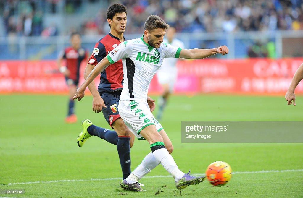 Genoa CFC v US Sassuolo Calcio - Serie A : News Photo