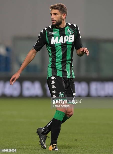 Domenico Berardi of US Sassuolo Calcio looks on during the Serie A match between US Sassuolo and Udinese Calcio at Mapei Stadium Citta' del Tricolore...