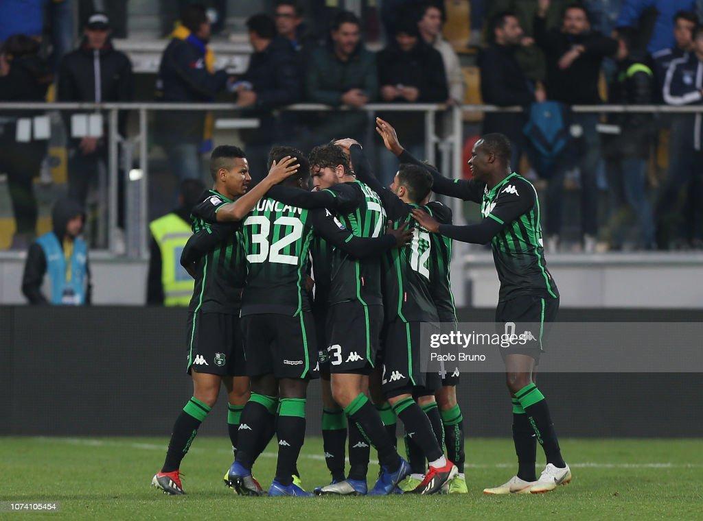 Frosinone Calcio v US Sassuolo - Serie A : News Photo