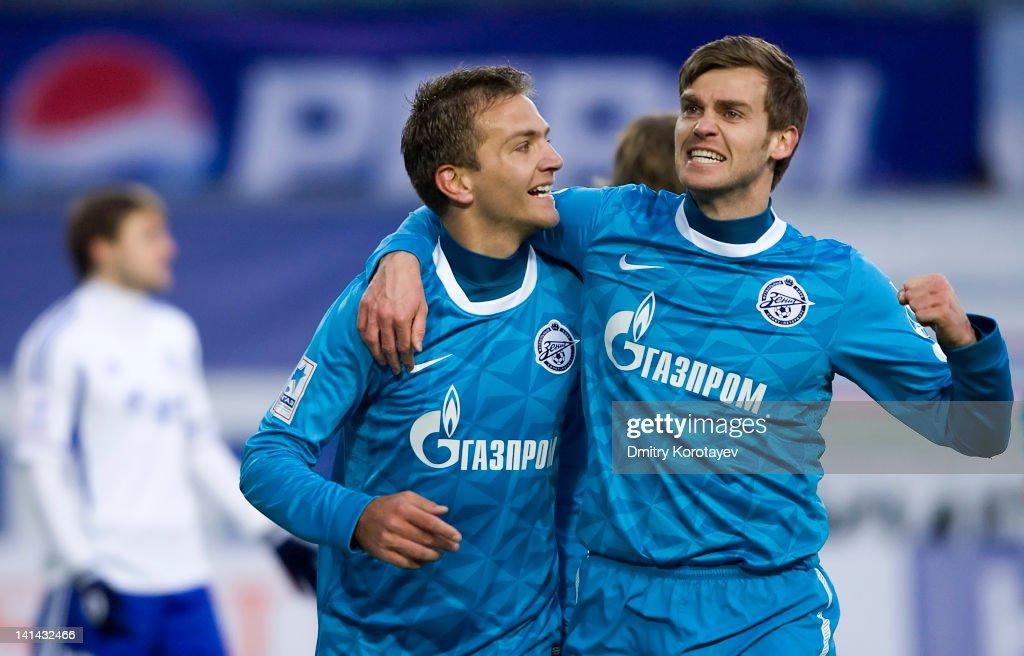 FC Dinamo Moskva v FC Zenit St Petersburg - Premier League