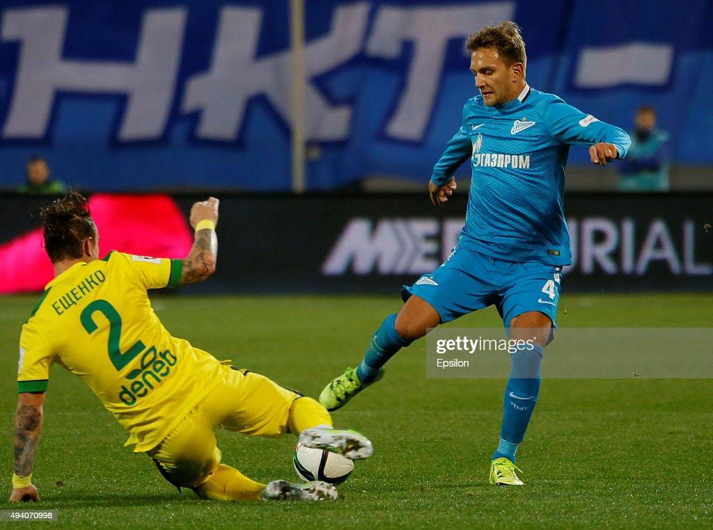 Zenit St Petersburg v Anzhi Makhachkala - Russian Premier League : News Photo
