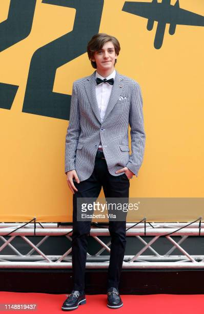 Domenico Cuomo attends 'Catch-22' Photocall, a Sky production, at The Space Moderno Cinema on May 13, 2019 in Rome, Italy.