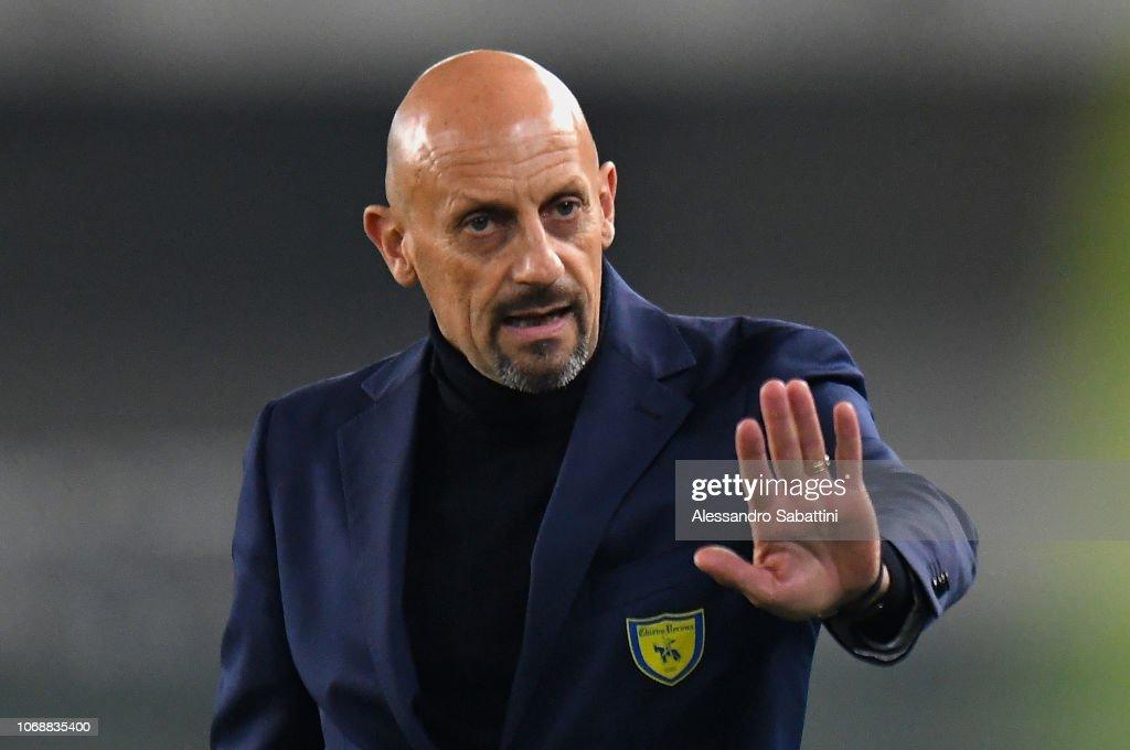 AC ChievoVerona v Cagliari Calcio - Coppa Italia : News Photo