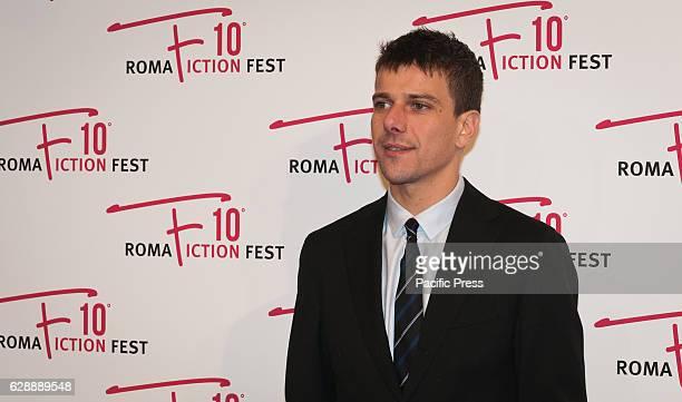 """Domenico Diele attend the red carpet for """"Di Padre in Figlia"""" a film by Riccardo Milani."""