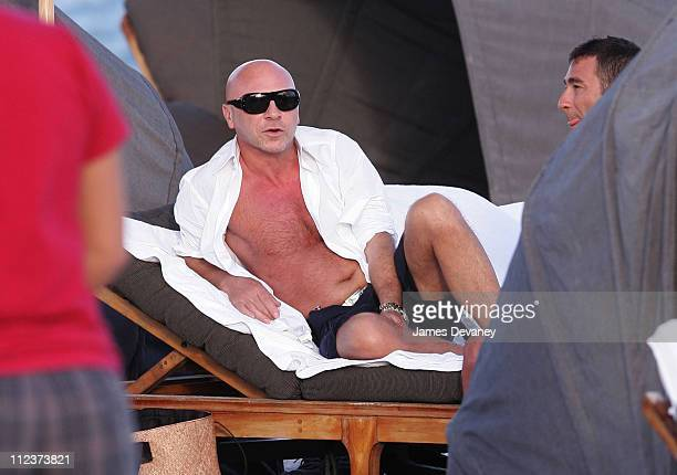 Domenico Dolce during Domenico Dolce Sighting in South Beach January 3 2007 at South Beach in Miami Florida United States