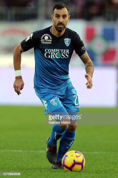 Domenico Maietta of Empoli FC in action during the Serie A match between Empoli and Bologna FC at Stadio Carlo Castellani on December 9 2018 in...