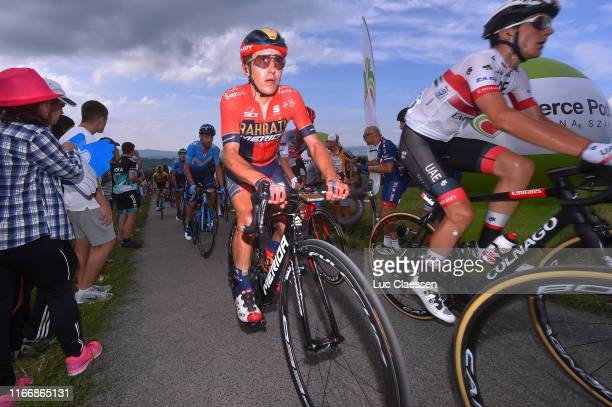 Domenico Pozzovivo of Italy and Bahrain Merida / during the 76th Tour of Poland 2019 Stage 6 a 160km stage from Zakopane to Koscielisko 973m / #TDP19...