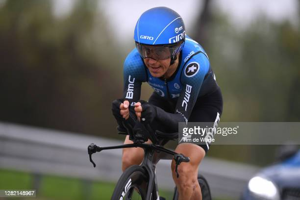 Domenico Pozzovivo of Italy and NTT Pro Cycling Team / during the 103rd Giro d'Italia 2020, Stage 21 a 15,7km Individual time trial from Cernusco sul...