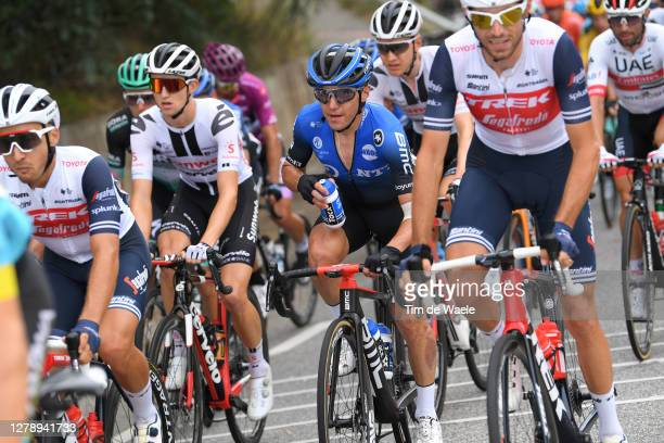 Domenico Pozzovivo of Italy and NTT Pro Cycling Team / Tacx bottle / during the 103rd Giro d'Italia 2020, Stage 5 a 225km stage from Mileto to...