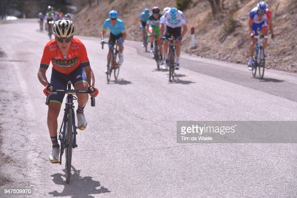 Domenico Pozzovivo of Italy and Team Bahrain Merida / during the 42nd Tour of the Alps 2018, Stage 2 a 145,5km stage from Lavarone to Alpe di...