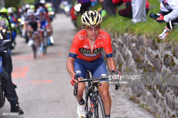 Domenico Pozzovivo of Italy and Team Bahrain-Merida / during the 101st Tour of Italy 2018, Stage 14 a 186km stage from San Vito Al Tagliamento to...