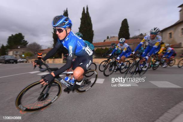 Domenico Pozzovivo of Italy and Team NTT Pro Cycling / during the 5th Tour de La Provence 2020 Stage 1 a 1495km stage from Châteaurenard to...
