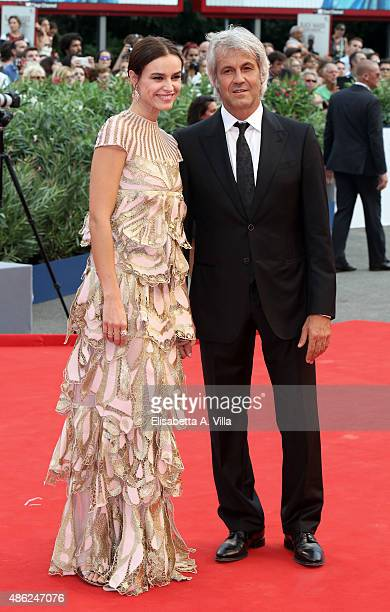 Domenico Procacci and Kasia Smutniak attend the opening ceremony and premiere of 'Everest' during the 72nd Venice Film Festival on September 2 2015...