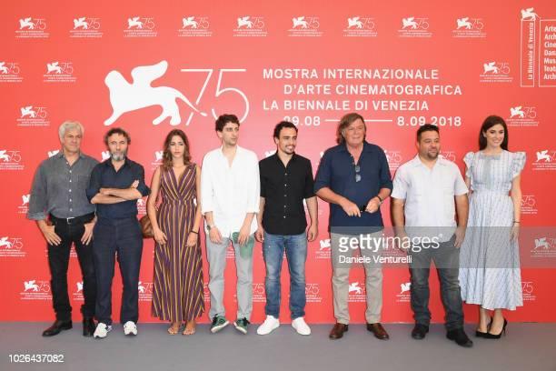 Domenico Procacci Valerio Aprea Sofia Staderini Pietro Castellitto Simone Liberati Adriano Panatta Emanuele Scaringi and Diana Del Bufalo attend...
