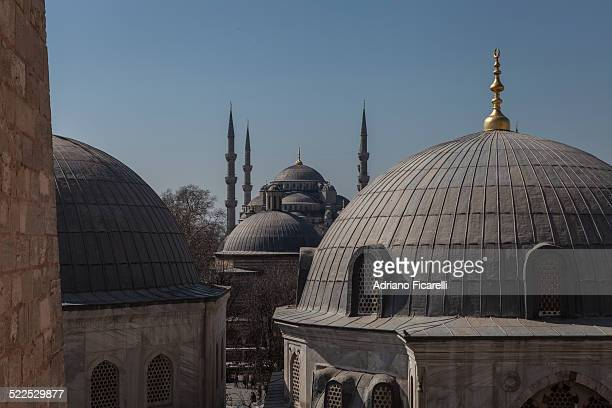 domes and minarets - adriano ficarelli stock pictures, royalty-free photos & images
