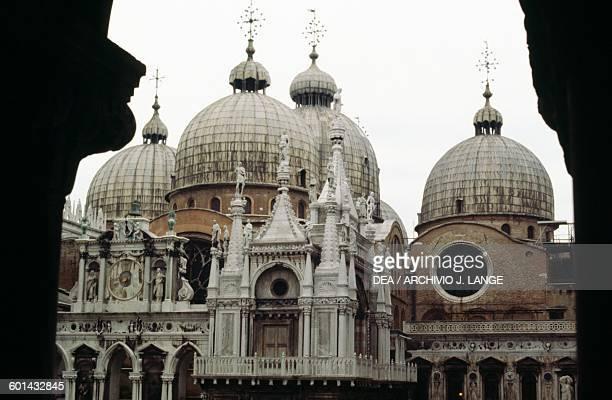 Domes of St Mark's Basilica Venice Veneto Italy 11th17th century