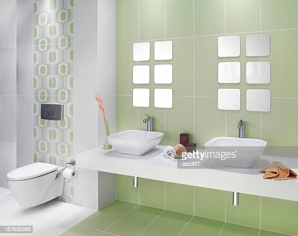 Domestic Badezimmer