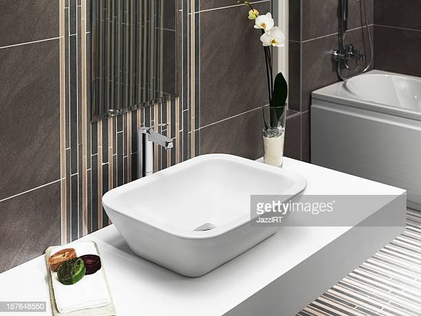 domestic bathrooms - toilet planter stock pictures, royalty-free photos & images
