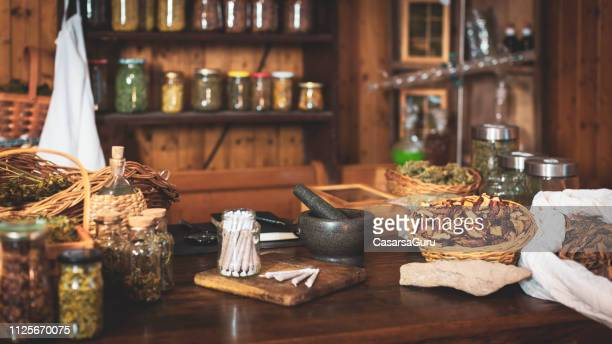 domestic kitchen with rolled cannabis joints - cannabis store stock pictures, royalty-free photos & images