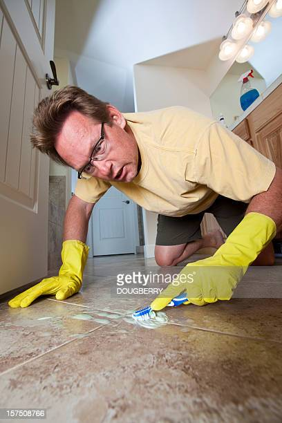 domestic man - obsessive stock pictures, royalty-free photos & images