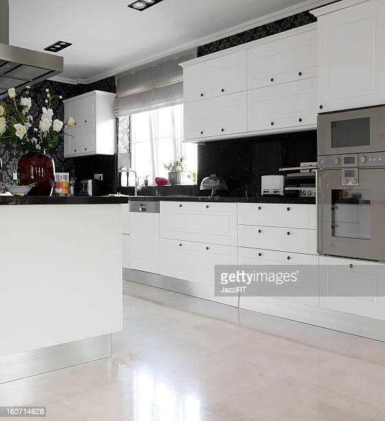 Domestic modern kitchen