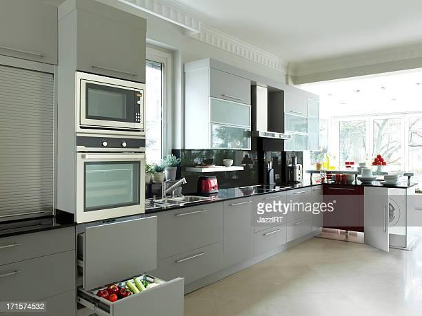 Moderno Cozinha doméstica