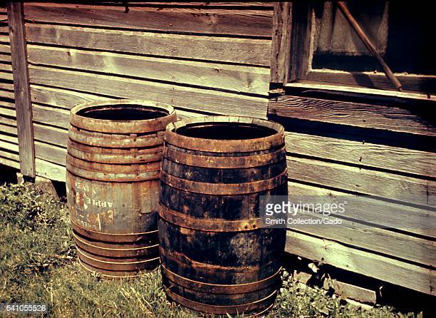 Domestic mosquitoes are often found breeding in rain barrels 1975 Domestic species are those that breed close to human habitation Rain barrels may...