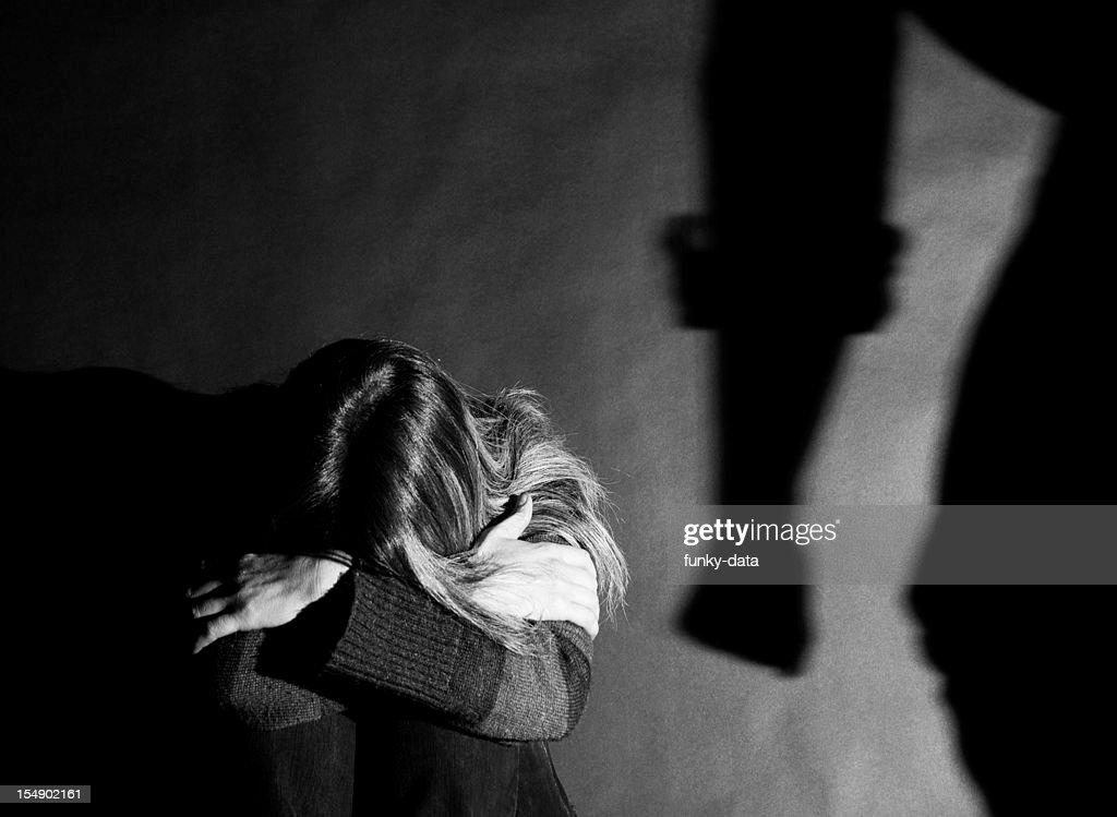 Domestic violence - Abuse : Stock Photo