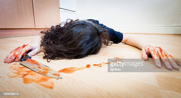 domestic violence - dead women stock photos and pictures