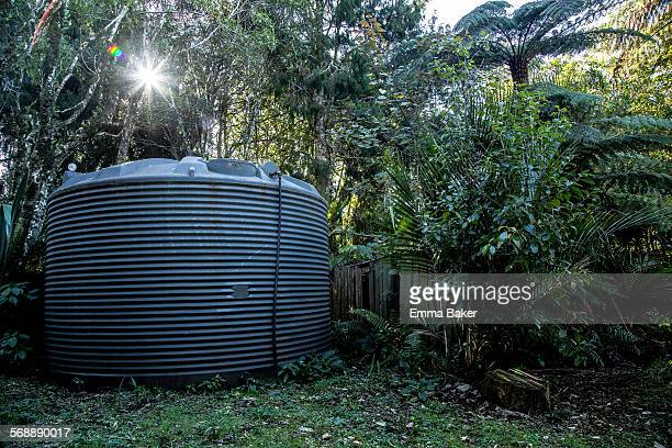 domestic water tank in new zealand - emma baker stock pictures, royalty-free photos & images
