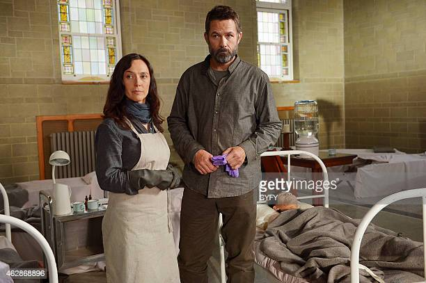 HELIX 'M Domestica' Episode 206 Pictured Severn Thompson as Sister Anne Billy Campbell as Dr Alan Farragut