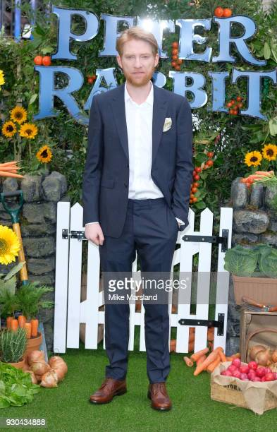 Domhnall Gleeson attends 'Peter Rabbit' UK Gala Screening at Vue West End on March 10, 2018 in London, England.