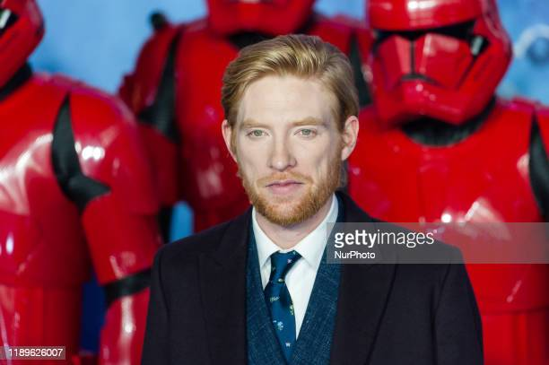 Domhnall Gleeson attends the European film premiere of 'Star Wars The Rise of Skywalker' at Cineworld Leicester Square on 18 December 2019 in London...